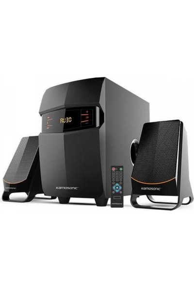 Kamosonic Ks2050 425 Watt Peak Power 2+1 Bluetoth Ses Sistemi
