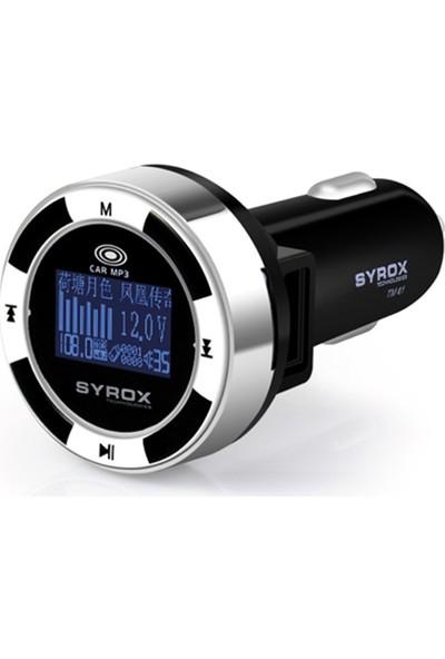 Syrox Mp3 Çalar Ve Araç Şarjı 2.1 Mah Transmitter