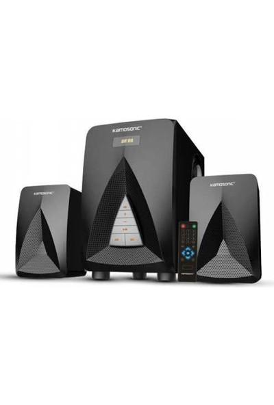 Kamasonic Kamosonic Ks 2055 425 Watt Peak Power Bluetooth 2+1 Ses Sistemi