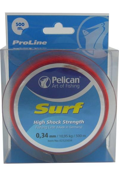Pelican Pelıcan Surf Makara Misina 500 M 0,34 Mm 10,95 Kg