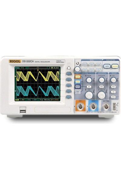 Ds-1202Ca 200 Mhz Rigol Dıjıtal Hafızalı Osıloskop