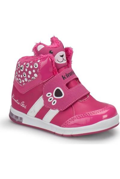 Kinetix Keıra Fuşya Siyah Pembe Kız Çocuk Sneaker Ayakkabı