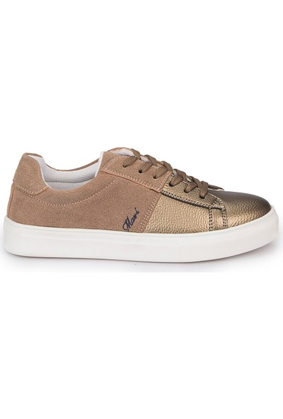 Mavi Just Kum Rengi Kadın Sneaker Ayakkabı