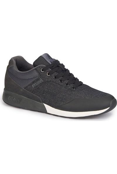 Mavi Pıke Siyah Erkek City Ayakkabı