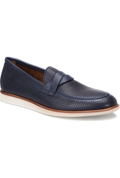 A.Bottega Vg-12078 Lacivert Erkek Deri Modern Ayakkabı