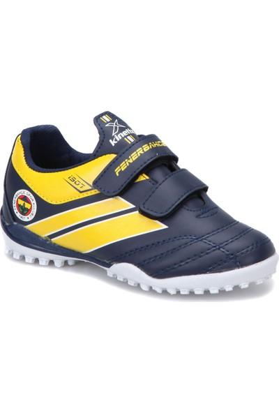 Fb Kids Trım J Turf Fb K Lacivert Sarı Erkek Çocuk Halı Saha Ayakkabısı