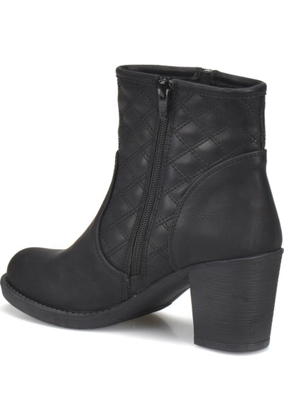 Miss F C17083 Siyah Kadın Basic Dress Bot