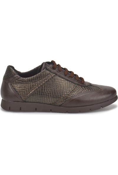 Travel Soft Trv1014 Kahverengi Kadın Basic Comfort Ayakkabı