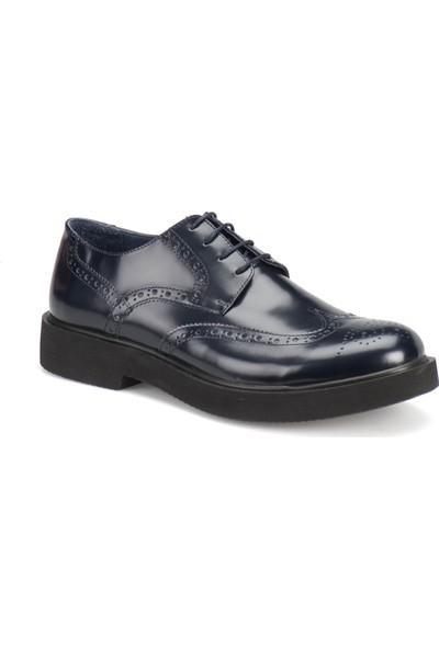 Garamond 75419-1 Lacivert Erkek Deri Ayakkabı