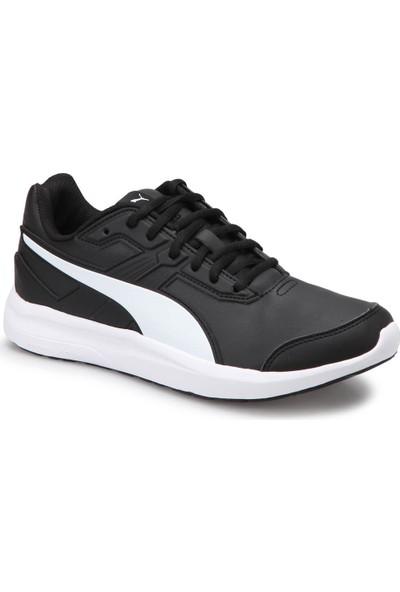Puma Escaper Sl Black Whıte Siyah Beyaz Erkek Koşu Ayakkabısı