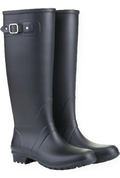 Igor W10130-F28 Siyah Kadın Yağmur Çizmesi