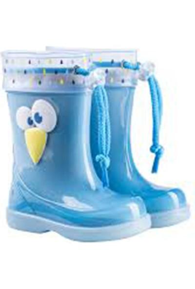 Igor W10165-O82 Mavi Erkek Çocuk Yağmur Çizmesi