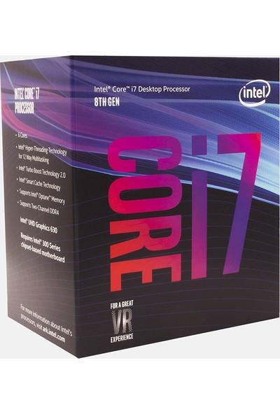 Intel Core i7-8700 3.20 GHz İşlemci