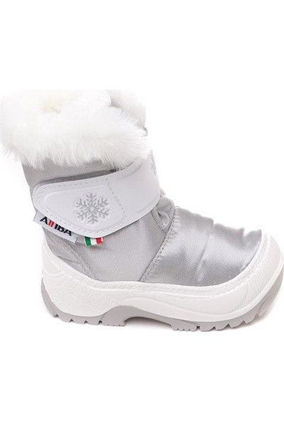 Attiba 99971-White 99971NY Kışlık Çocuk Kürklü Bot