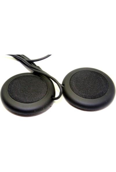 Knmaster Kask Bluetooth Intercom İçin Yedek Kulaklık Ve Mikrofon Seti