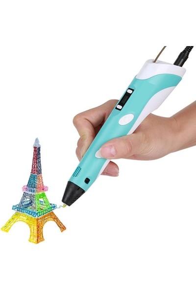 3D Yazıcı Yeni Nesil Lcd Ekranlı 3D Kalem 1.75 Mm