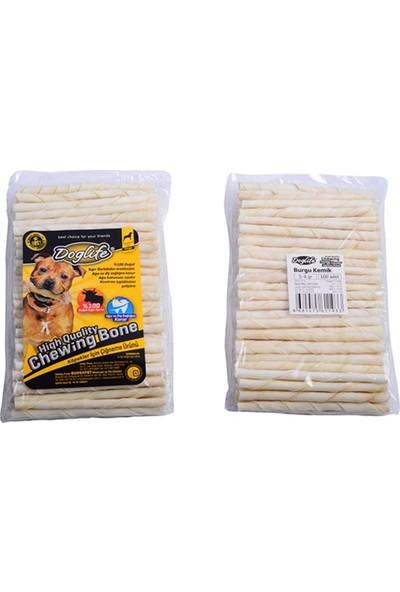 Doglife Burgu Çubuk 5-6 Gr 100 Adet Beyaz