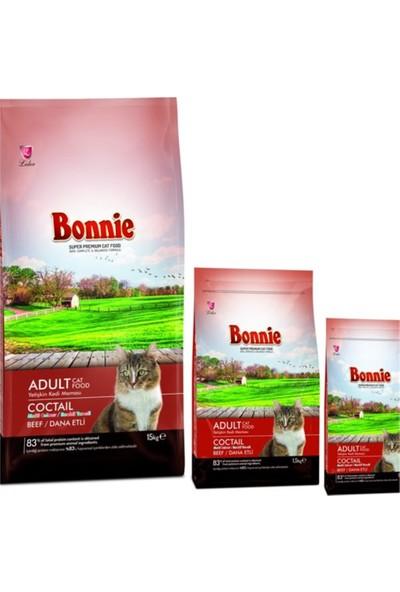 Bonnie Beef Dana Etli Renkli Taneli Yetişkin Kedi Maması 15 kg