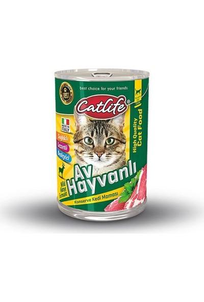 Catlife Av Hayvanlı Kedi Konserve 415 Gr 24 Adet