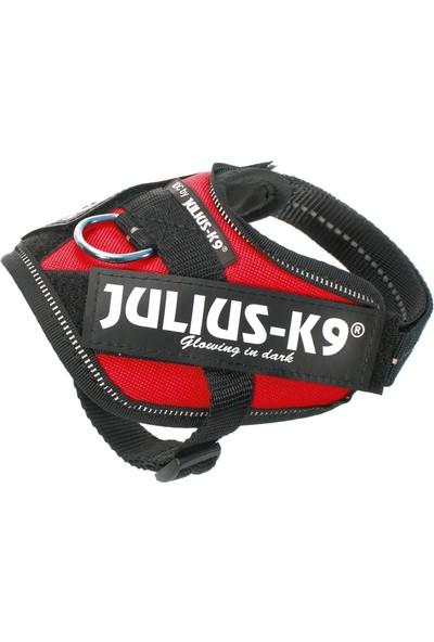 Julius-K9 Idc-Göğüs Tasması Kırmızı | 0.8-3Kg Ve 29-36Cm Göğüs Çevresi