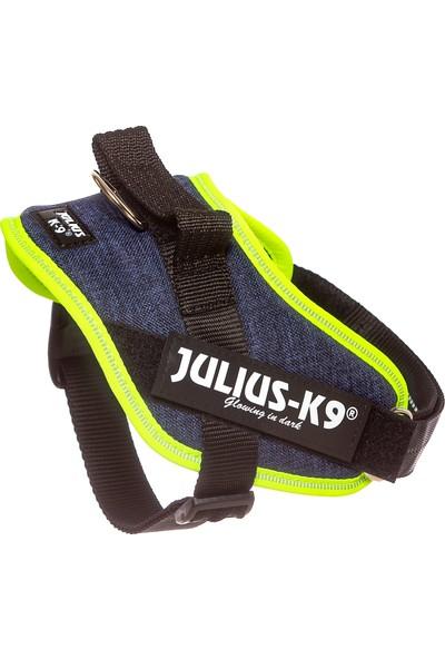 Julius-K9 Idc-Göğüs Tasması Kot-Neon | 7-15Kg Ve 49-67Cm Göğüs Çevresi