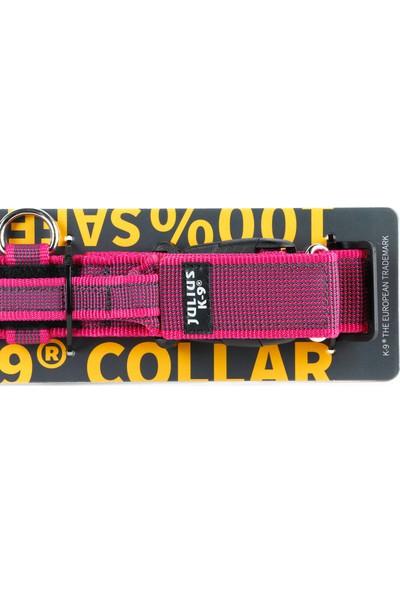 Color&Gray K9-Saplı Ve Güvenlik Kilitli Boyun Tasması
