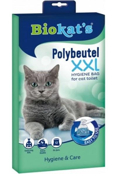 Biokats Kedi Kumu Hijyen Torbası XXL 12 li