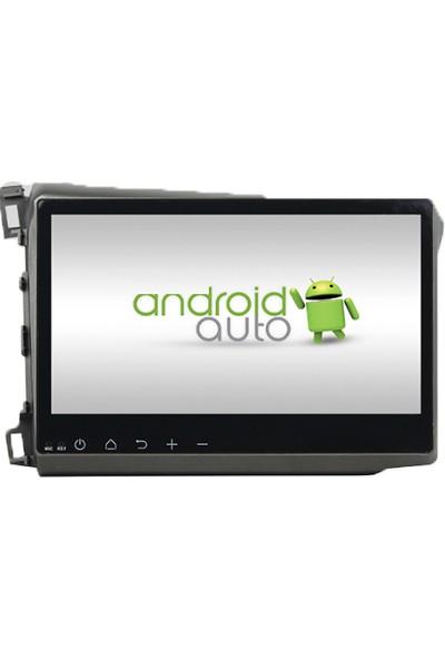 Honda Civic 2014 Multimedya Navigasyon Kamera Bluetooth Televizyon