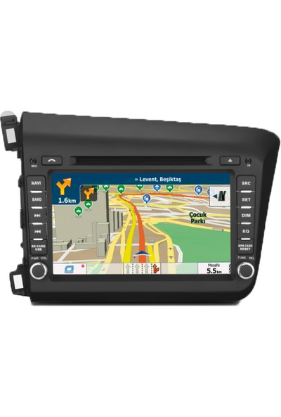 Honda Civic Multimedya Navigasyon Kamera