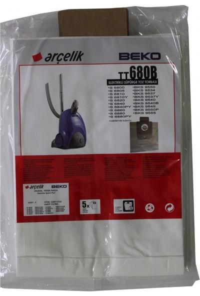 Beko BKS 9537 Elektrikli Süpürge Uyumlu Kağıt Süpürge Torbası