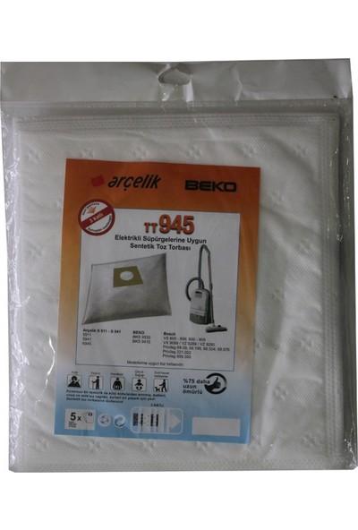 Beko BKS 9535 Elektrikli Süpürge Uyumlu Sentetik Toz Torbası