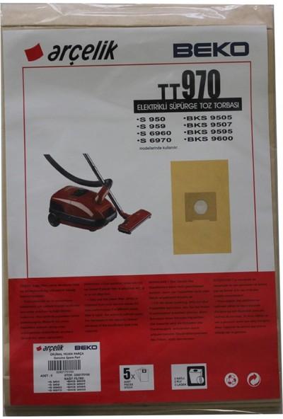 Arçelik S 950 Elektrikli Süpürge Uyumlu Kağıt Toz Torbası