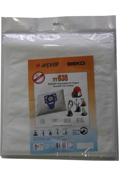 Beko BKS 1260 EY Elektrikli Süpürgeye Sentetik Toz Torbası