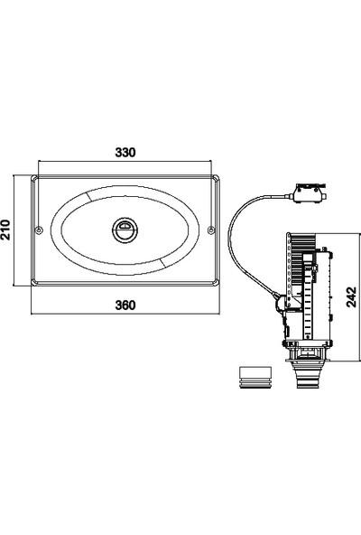 TEMA-SIAMP Gömme Rezervuarı Universal Değişim/Tamir Takımı