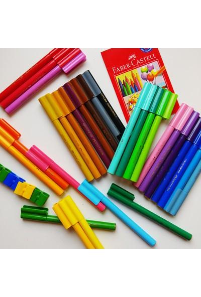 Faber-Castell Eğlenceli Keçeli Kalem 50 Renk