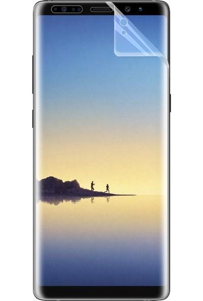 Microsonic Samsung Galaxy Note 8 Kavisler Dahil Tam Ekran Kaplayıcı Şeffaf Koruyucu Film