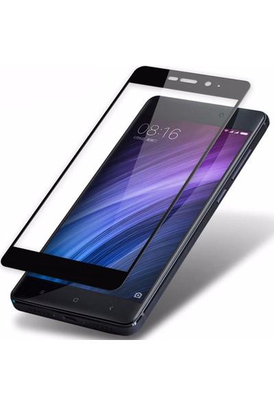 Microsonic Xiaomi Redmi Note 4 Tam Kaplayan Temperli Cam Ekran koruyucu Film