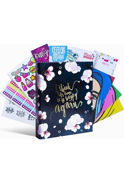 JUNO PAPER Set - Planlayıcı Seti - Tarihsiz Ajanda Seti / Happy Again