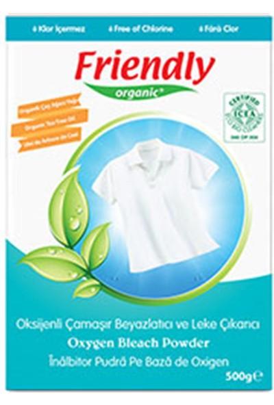 Friendly Oksijenli Toz Çamaşır Beyazlatıcı ve Leke Çıkarıcı 500 gr