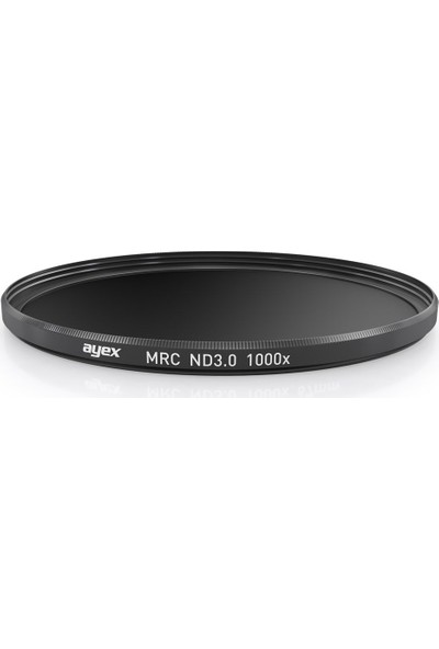 Ayex 49Mm Neutral Density Nd 3.0 1000X Mrc Slim Nd Filtre