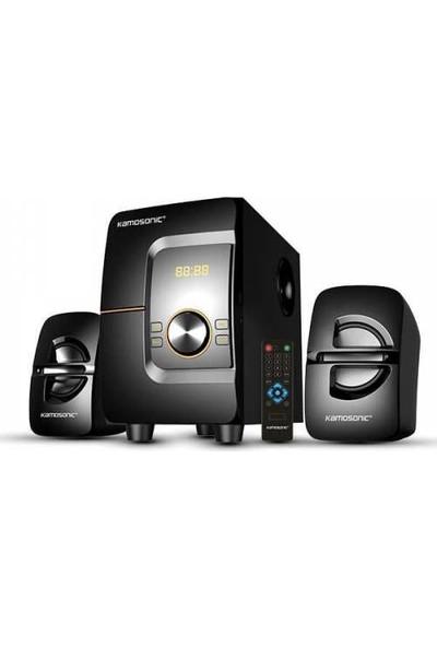 Kamosonıc Ks 2060 425 Watt Peak Power 2+1 Bluetooth Ses Sistemi