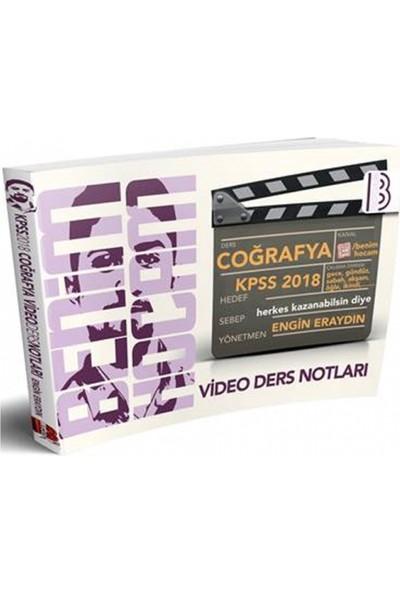 Benim Hocam Yayınları 2018 KPSS Coğrafya Video Ders Notları