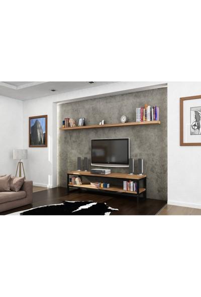 Endustriyel Mobilya Defne TV Ünitesi 180 cm