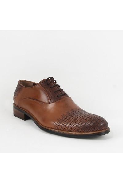 Armanc 360 Erkek Bağcıklı Klasik Ayakkabı Taba