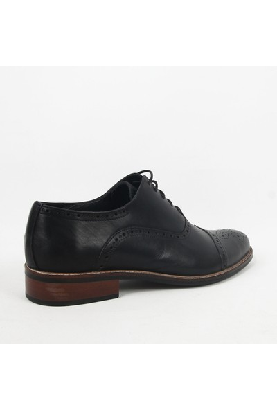 Armanc 365 Erkek Bağcıklı Klasik Ayakkabı Siyah