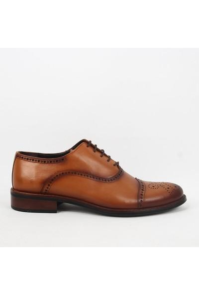 Armanc 365 Erkek Bağcıklı Klasik Ayakkabı Taba