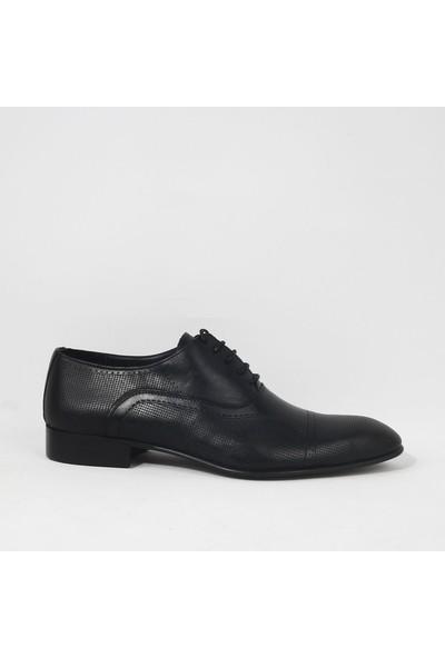 Armanc 369 Erkek Bağcıklı Klasik Ayakkabı Siyah