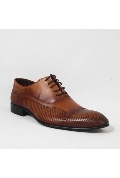 Armanc 369 Erkek Bağcıklı Klasik Ayakkabı Taba