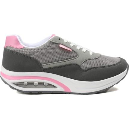 Kinetix Gri Kadın Günlük Ayakkabı 1321146