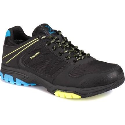 Kinetix A1311006 Siyah Mavi Neon Yesil Erkek Fitness Ayakkabısı